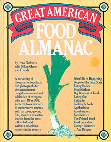 9780060960674: The Great American Food Almanac