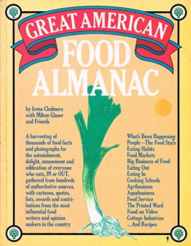 9780060960674: The Great American Food Almanac