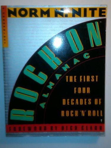 9780060960810: Rock on Almanac: First Four Decades of Rock 'n' Roll - A Chronology