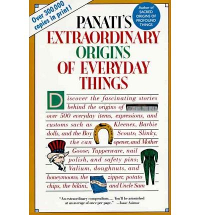 9780060960933: Extraordinary Origins of Everyday Things