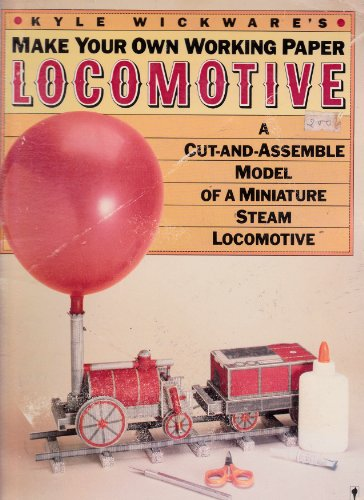 9780060961053: Make your own working paper locomotive