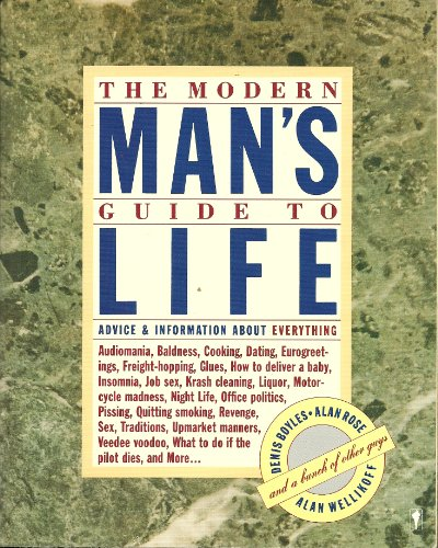 9780060961336: The Modern Man's Guide to Life: Advice and Information About Everything