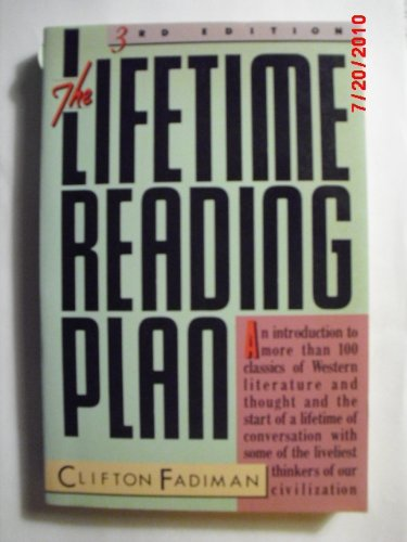 The Lifetime Reading Plan (0060961740) by Clifton Fadiman
