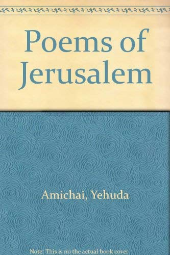 9780060962883: Poems of Jerusalem (English and Hebrew Edition)