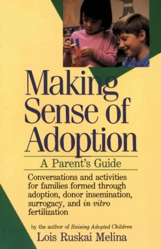 9780060963194: Making Sense of Adoption: A Parent's Guide