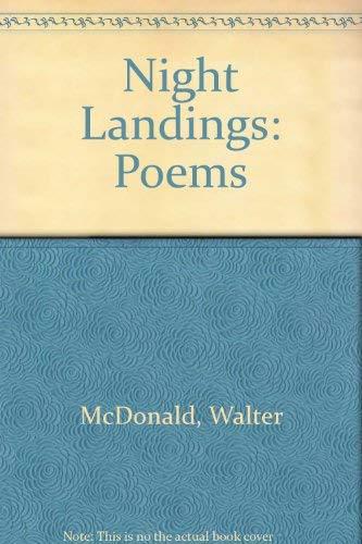 9780060963316: Night Landings: Poems