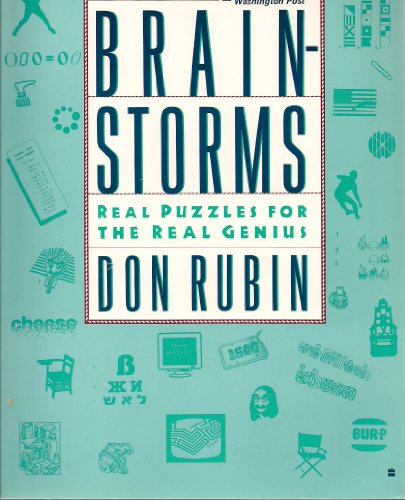 9780060963385: Brainstorms: Real Puzzles for the Real Genius