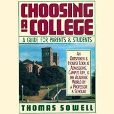 9780060963545: Choosing a College: A Guide for Parents and Students
