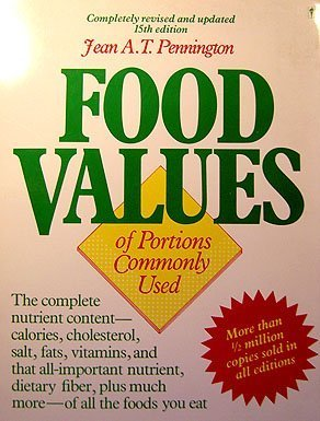 9780060963644: Bowes and Church's Food Values of Portions Commonly Used