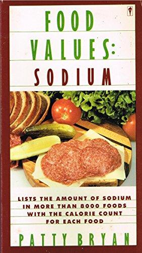 Food Values: Sodium: Bryan, Patty