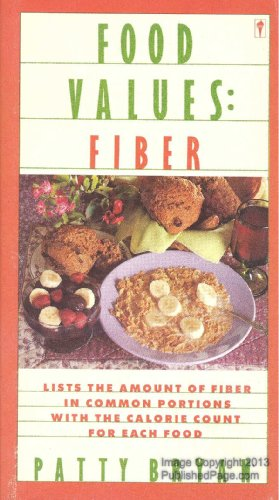 9780060964450: Food Values: Fiber