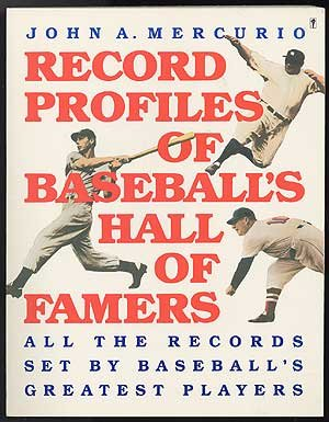 9780060964481: Record Profiles of Baseball's Hall of Famers