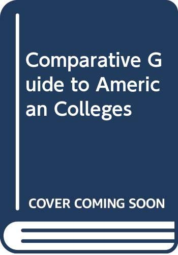 9780060964801: Comparative Guide to American Colleges