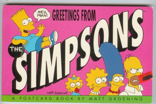 9780060965808: Greetings from the Simpsons: A Postcard Book