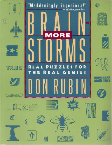 9780060968298: More Brainstorms: Real Puzzles for the Real Genius