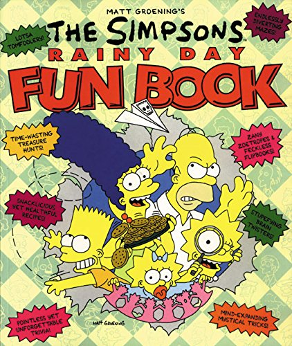 9780060968618: The Simpsons Rainy Day Fun Book: An Activity Book for All Ages