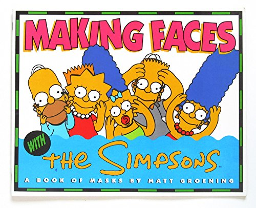 9780060968755: Making Faces With the Simpsons: A Book of Masks/Big Book