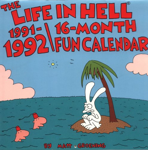 9780060968786: Life in Hell:16 Months Fun Calendar