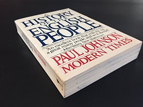 9780060970017: A history of the English people