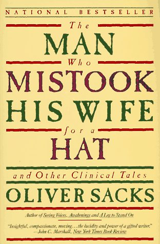 Image result for the man who mistook his wife for a hat book cover