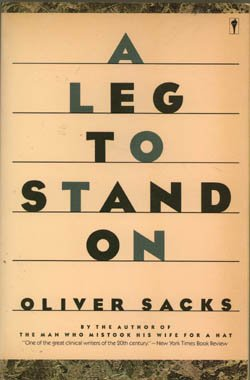 9780060970826: A leg to stand on