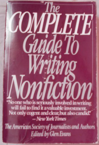 9780060971359: The Complete Guide to Writing Nonfiction