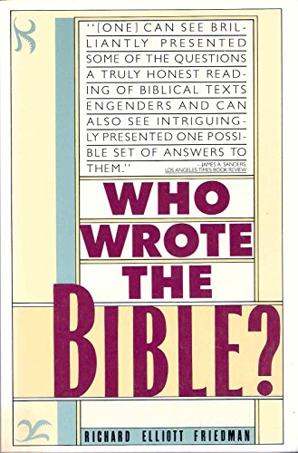 9780060972141: Who Wrote the Bible?