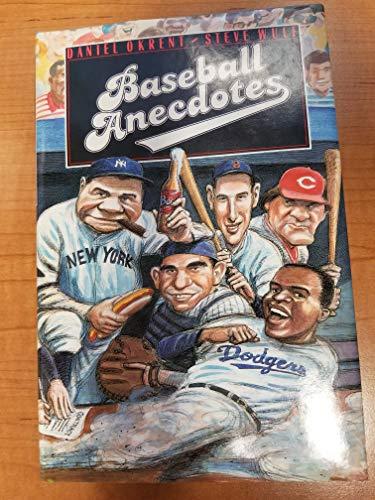 9780060972998: Baseball Anecdotes