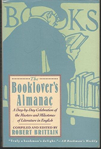 9780060974091: The Booklover's Almanac