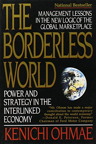 9780060974121: The Borderless World: Power and Strategy in the Interlinked Economy