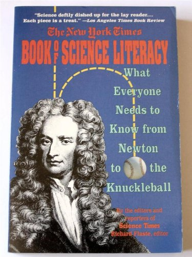 9780060974558: The New York Times Book of Science Literacy