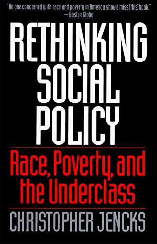 9780060975340: Rethinking Social Policy: Race, Poverty, and the Underclass