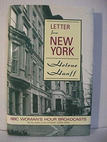 9780060975432: Letter from New York/Bbc Woman's Hour Broadcasts