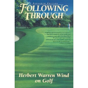9780060976606: Following Through: Writings on Golf