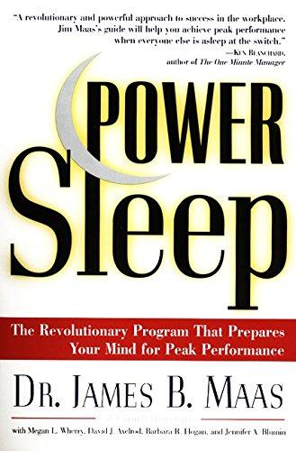 9780060977603: Power Sleep: The Revolutionary Program That Prepares Your Mind for Peak Performance