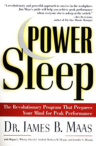 9780060977603: Power Sleep : The Revolutionary Program That Prepares Your Mind for Peak Performance