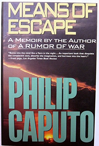 9780060984021: Means of Escape