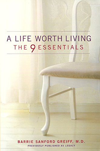 9780060987534: A Life Worth Living: The 9 Essentials