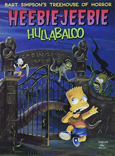 9780060987626: Bart Simpson's Treehouse of Horror