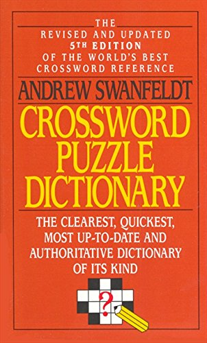 9780061000386: Crossword Puzzle Dictionary