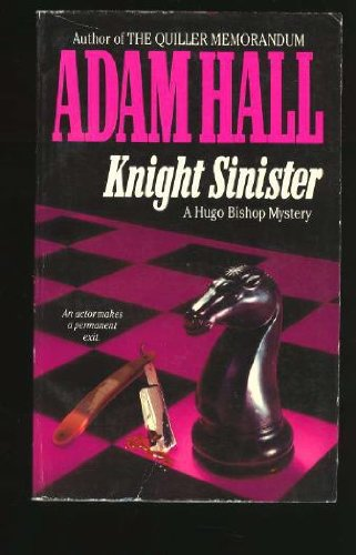 9780061000997: Knight Sinister: A Hugo Bishop Mystery