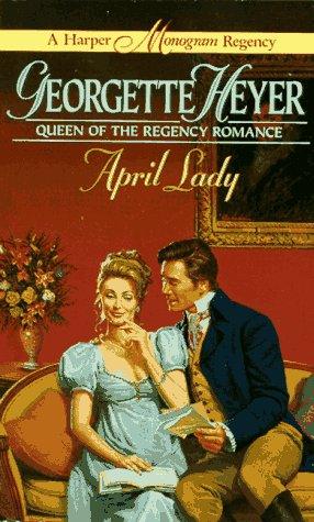 9780061002427: April Lady (A Harper Monogram Regency)