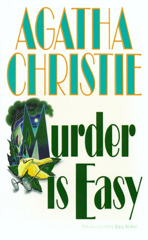 9780061003707: Murder Is Easy