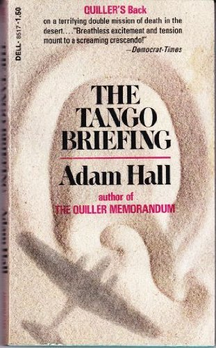 9780061005305: The Tango Briefing