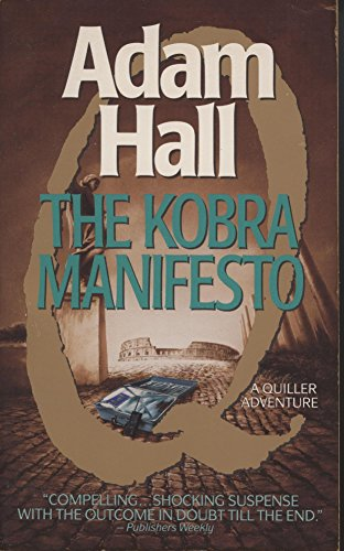 9780061005329: The Kobra Manifesto (Quiller Series)