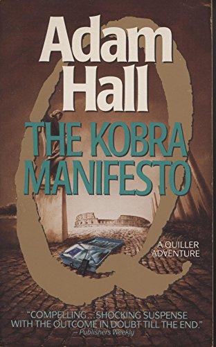 9780061005329: The Kobra Manifesto (Quiller Series)