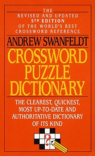 9780061006722: Crossword Puzzle Dictionary