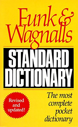 9780061007088: Funk & Wagnalls Standard Dictionary: Revised and Updated