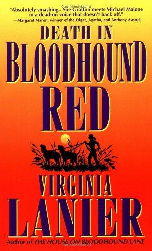 9780061010255: Death in Bloodhound Red (Jo Beth Sidden, No. 1)