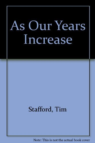 9780061040160: As Our Years Increase: Loving, Caring, Preparing : A Guide